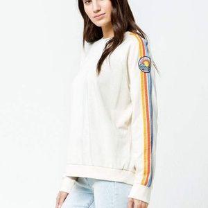 Rip Curl Customs Crew Neck Sweatshirt Size Medium
